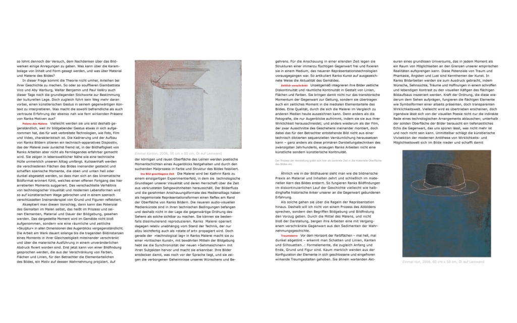 page view: Kathrin Rank - Fossile Augenblicke