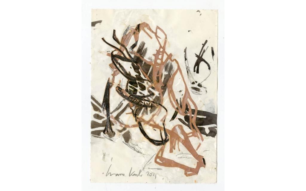Susanne Kessler - Linien tanzend - Zeichnung 3/10