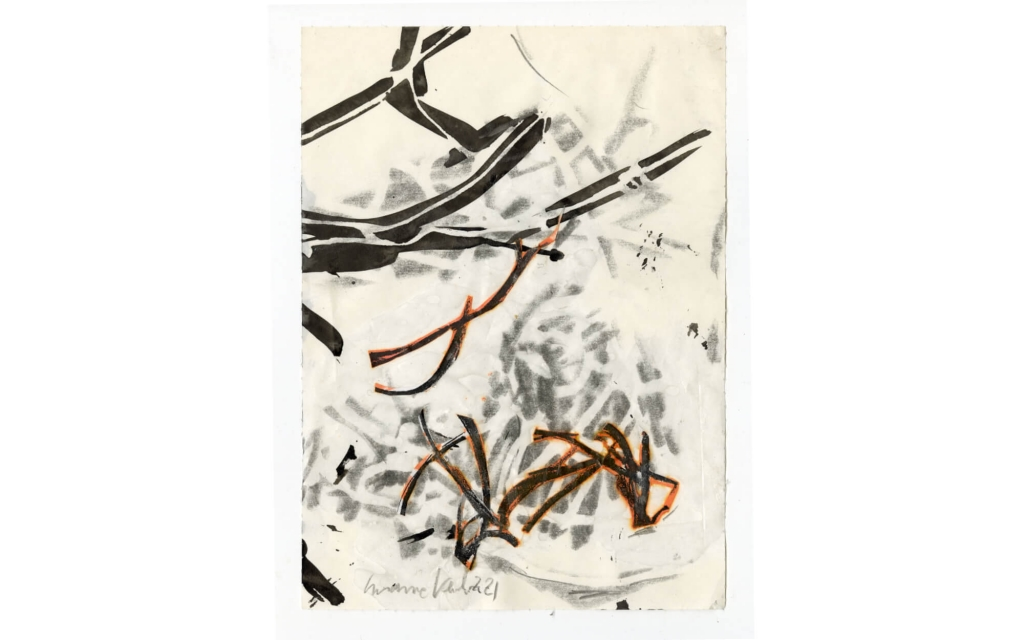 Susanne Kessler - Linien tanzend - Zeichnung 4/10