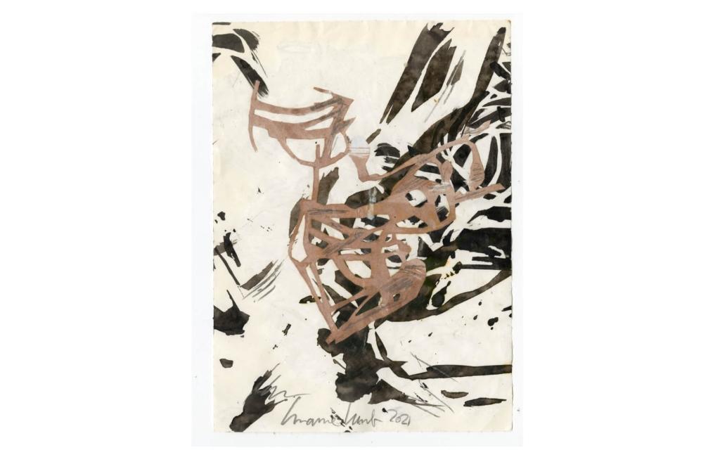 Susanne Kessler - Linien tanzend - Zeichnung 6/10