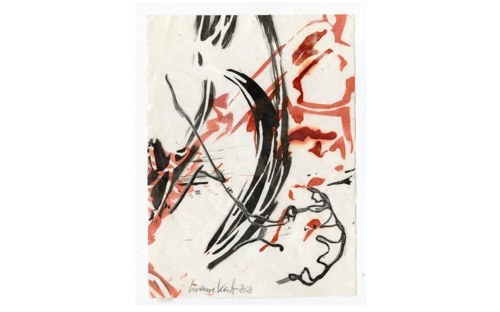 Susanne Kessler - Linien tanzend - Zeichnung 7/10