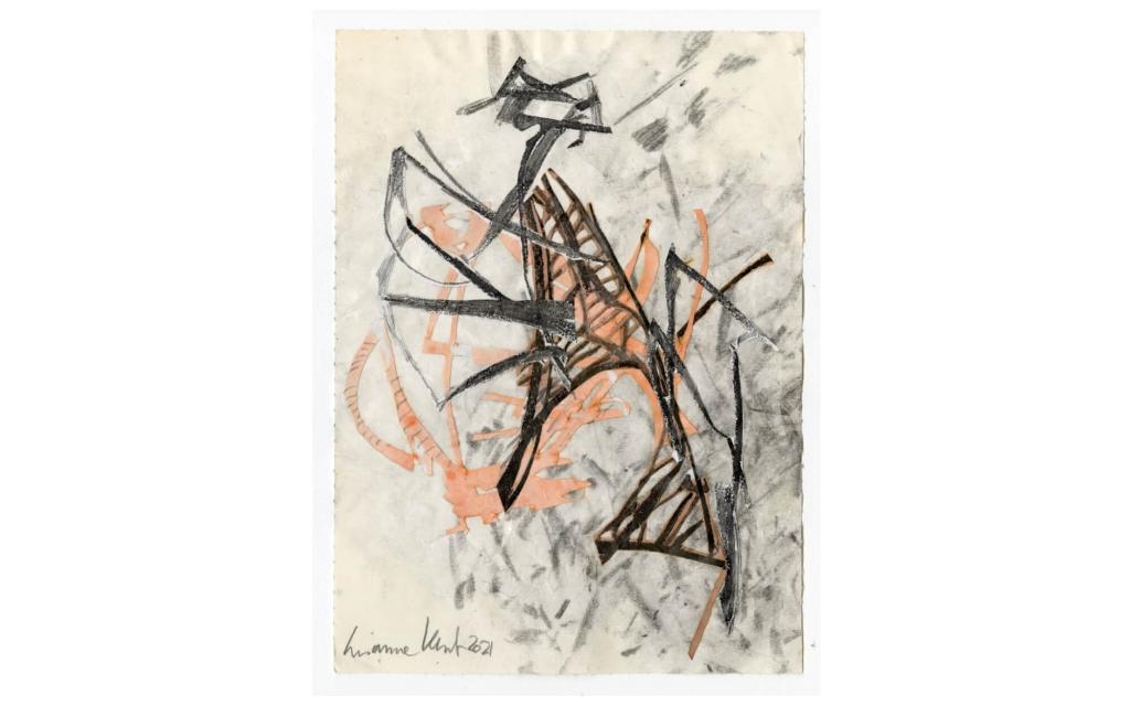 Susanne Kessler - Linien tanzend - Zeichnung 8/10