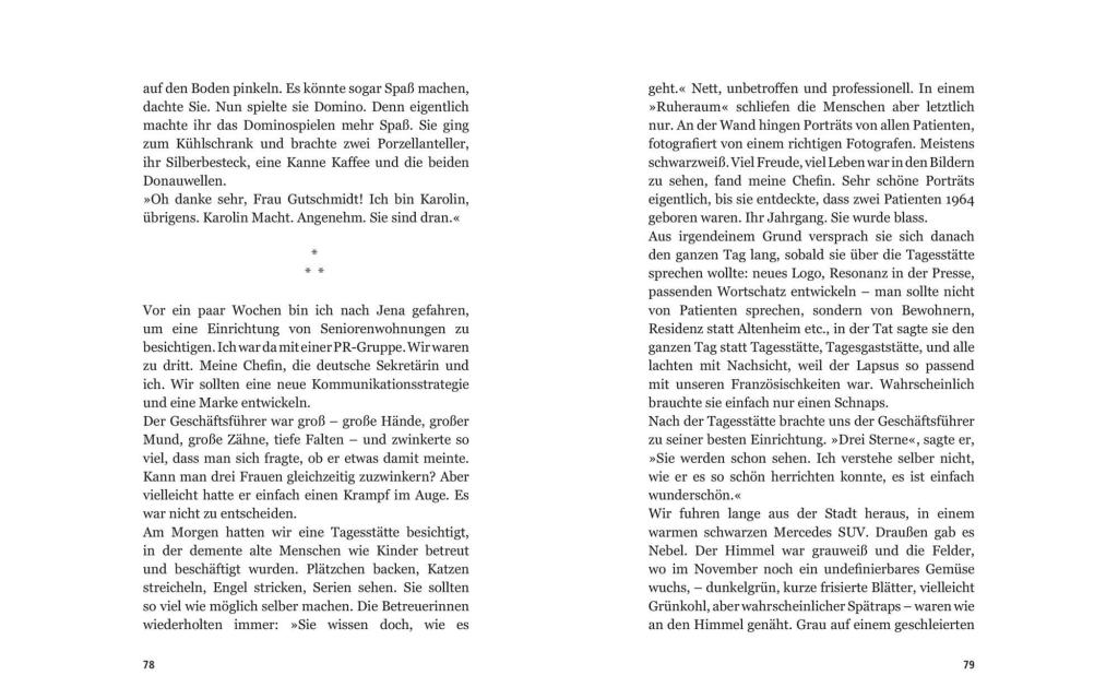Seitenansicht: Lingua franca Erzählungen