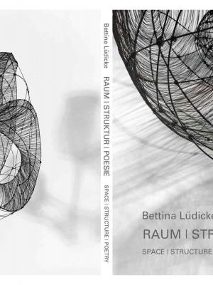 Umschlag: Bettina Lüdicke: Raum | Struktur | Poesie