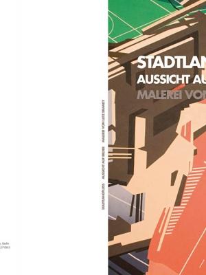Umschlag: Lutz Brandt - STADTLANDFLUSS. Aussicht auf Bilder.
