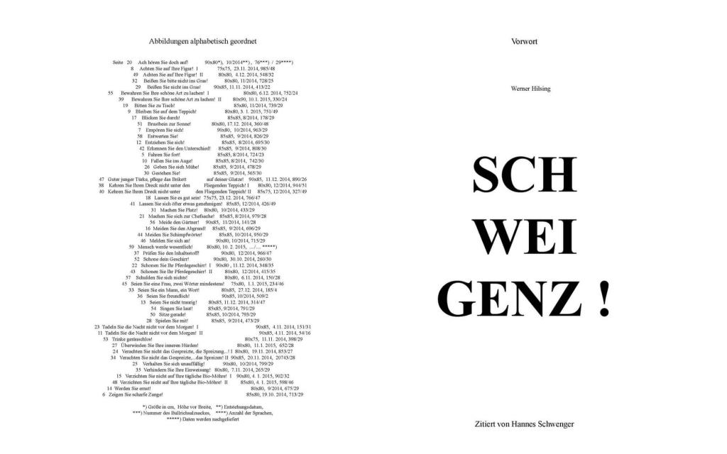 Seitenansicht: Johann Manfred Kleber - Imperative