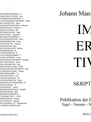Cover: Johann Manfred Kleber - Imperative. Skriptural