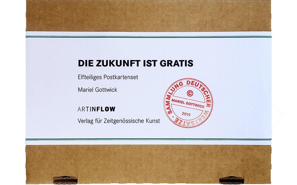 Postkartenset: Mariel Gottwick: Die Zukunft ist Gratis