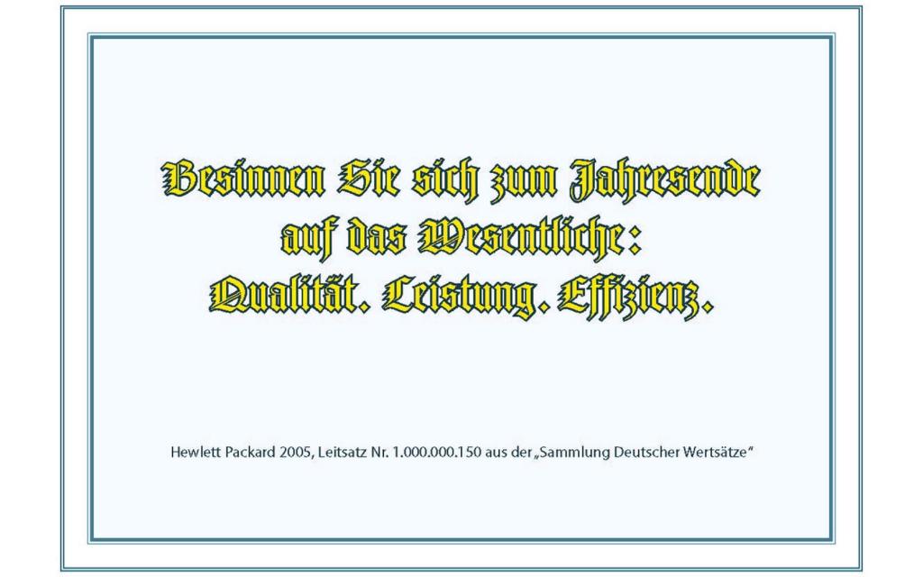 Ansicht Postkarte: Mariel Gottwick: Leitsatz
