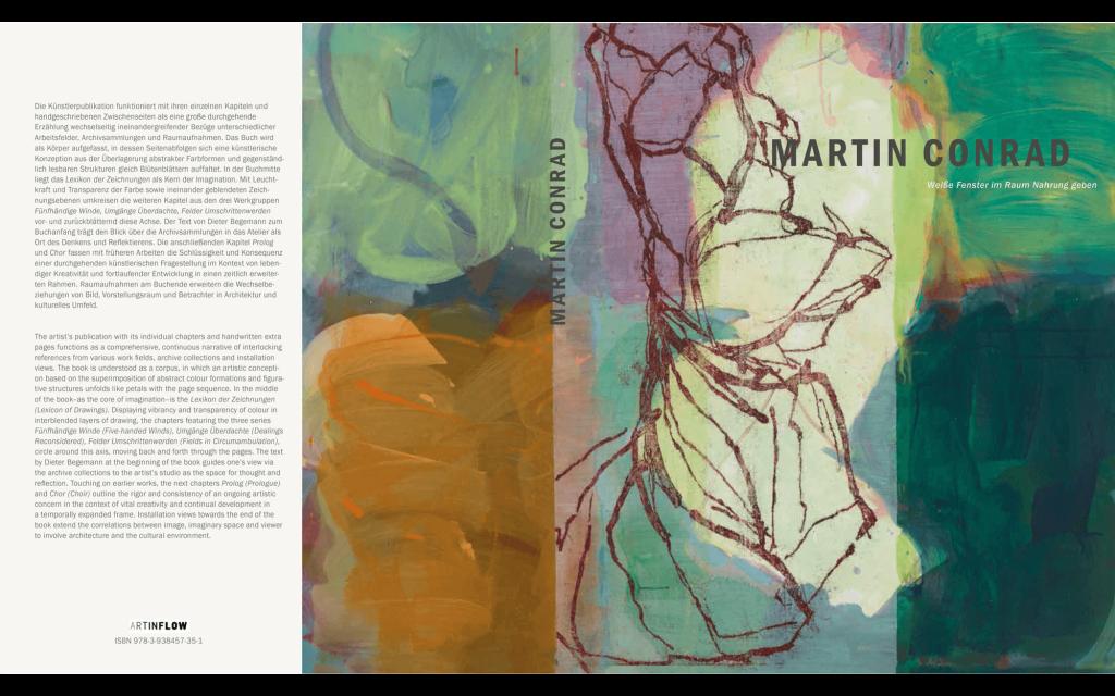 cover: Martin Conrad - Weiße Fenster im Raum Nahrung geben