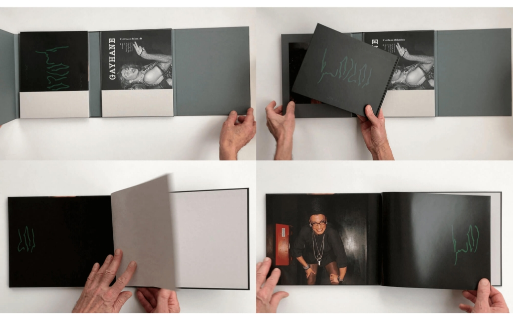 Ansicht »Dreideckenband« mit Künstlerbuch und Magazin