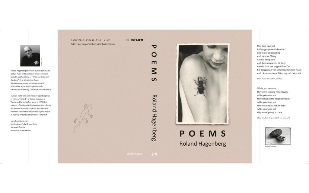 Umschlag mit Klappen: Roland Hagenberg - Poems