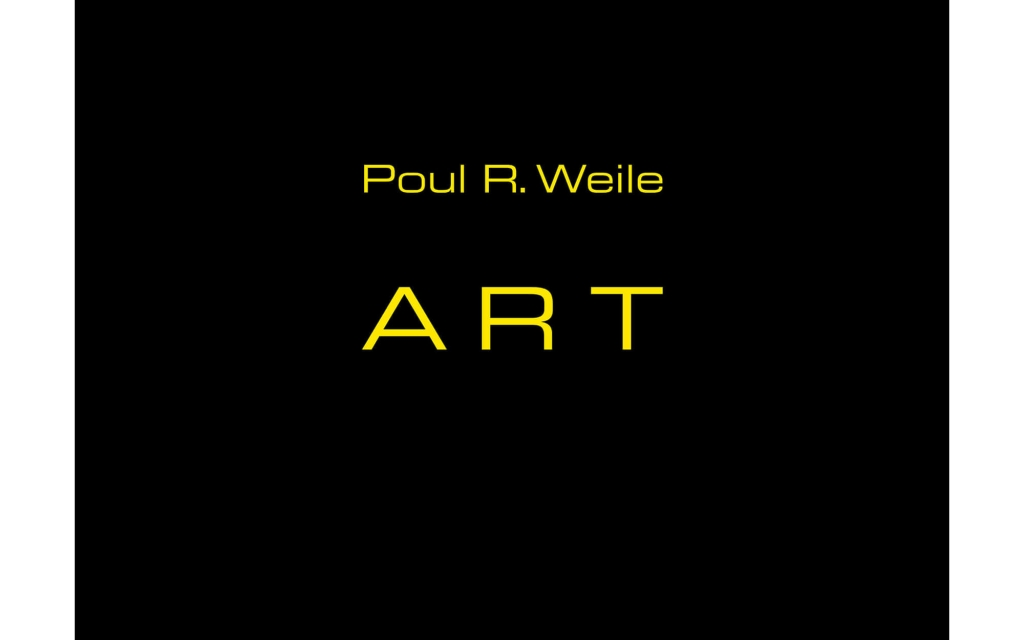 Umschlag: Poul R. Weile - ART.