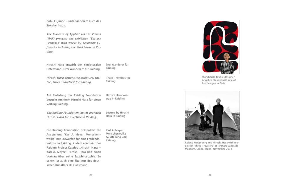 Seitenansicht: RAIDING project 2009 - 2019