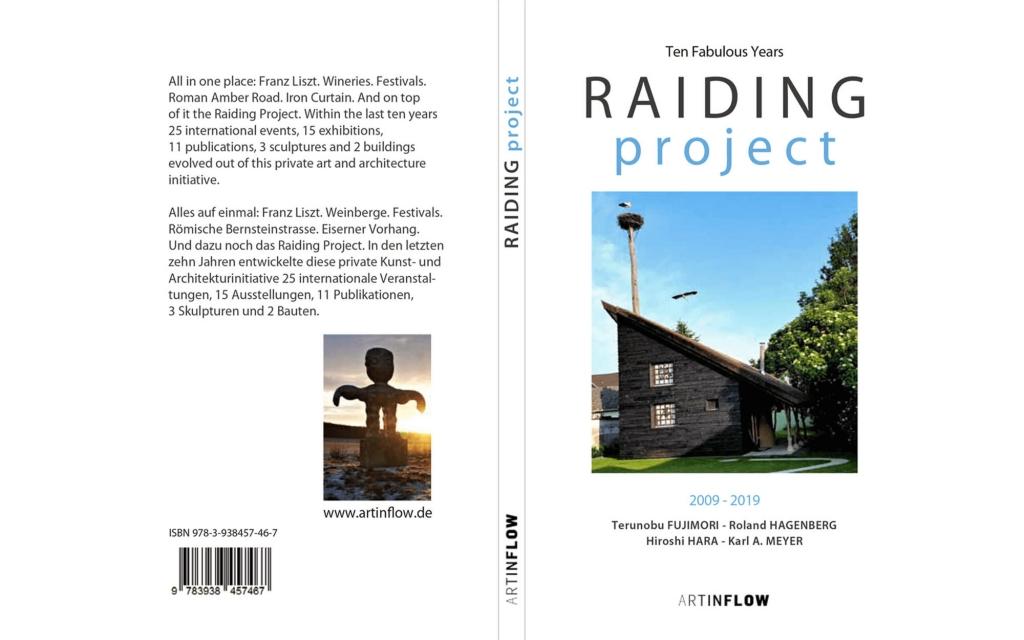 Umschlag: RAIDING project 2009 - 2019
