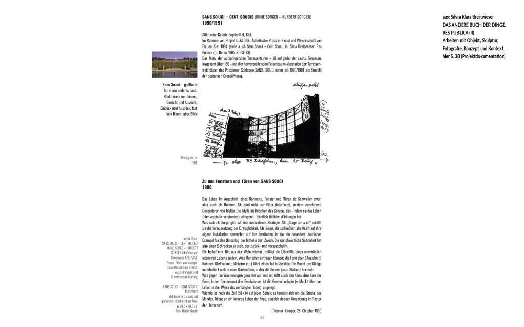 Breitwieser: Sans Souci - Cent Souci, 1991