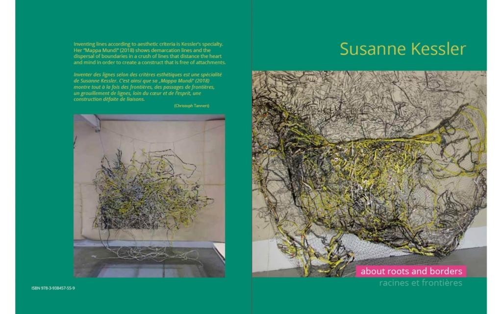 cover: Susanne Kessler - about roots and borders/ racines et frontières