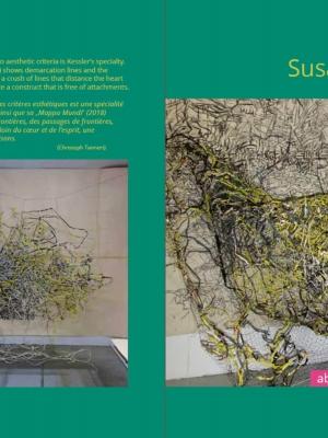Umschlag: Susanne Kessler - about roots and borders/ racines et frontières
