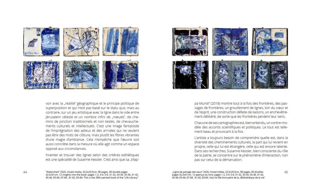 page view: Susanne Kessler - about roots and borders/ racines et frontières