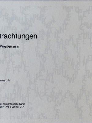 Cover und Box: Renate Wiedemann 14 Betrachtungen