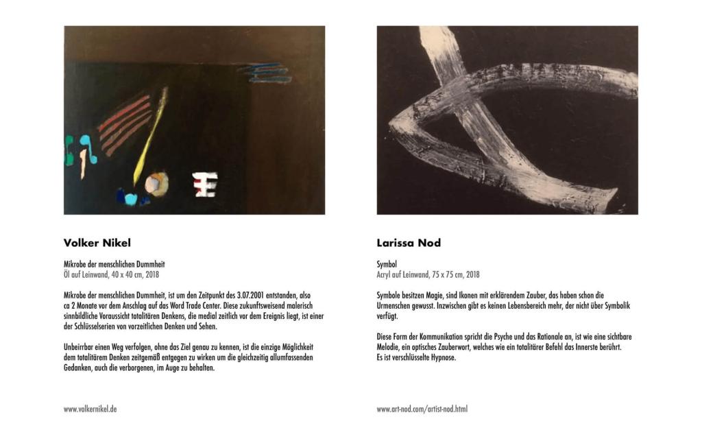 Seitenansicht: totalitär, Abb. Volker Nickel, Larissa Nod
